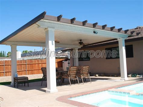 solid patio covers gallery skyline sunrooms patio covers