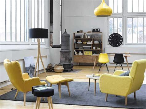 canapé avec fauteuil 20 fauteuils et canapés jaunes pour le salon joli place