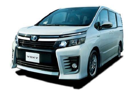 Modifikasi Toyota Voxy by Harga Toyota Voxy 2019 Review Spesifikasi Gambar
