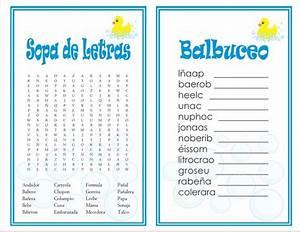 Juegos De Bingo Para Baby Shower Para Imprimir Imagui