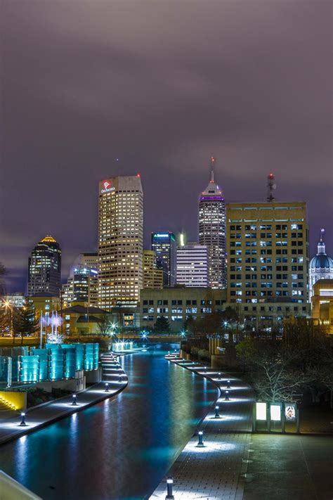 beautiful picture  downtown indy indianapolis