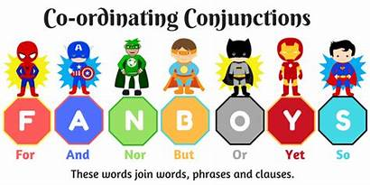 Conjunctions Coordinating Fanboys Simple Conjuctions Ordinating Fun