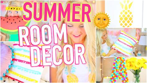 diy summer room decor tumblr inspired youtube