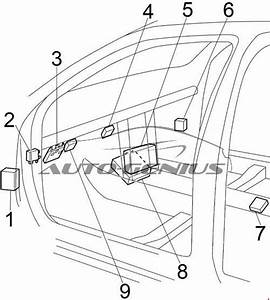 Nissan Altima  1998 - 2001  - Fuse Box Diagram