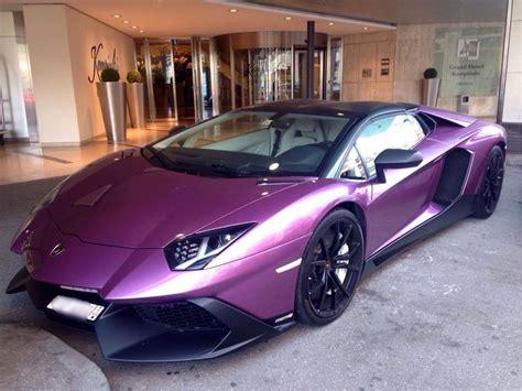 lamborghini purple 2017 unique purple lamborghini aventador 50th anniversario in