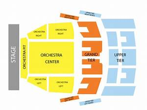Embassy Seating Chart Robinson Center Music Hall Seating Chart Events In