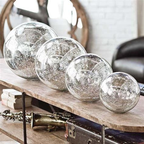 regina andrew blown mercury glass spheres home decor