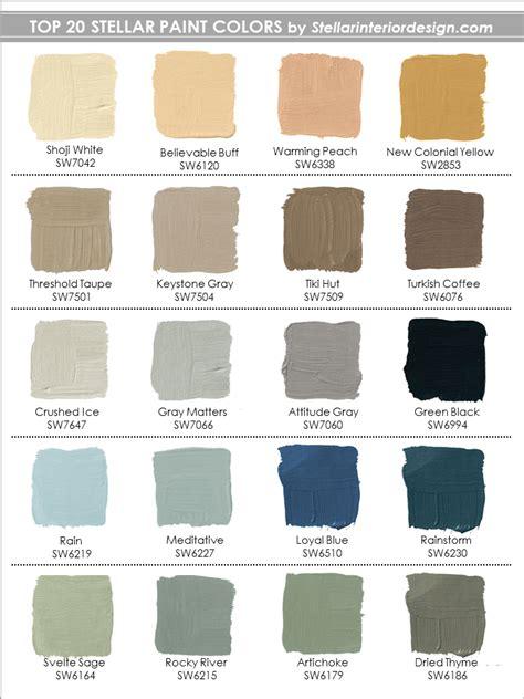 Paint Colors Archives  Stellar Interior Design
