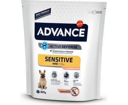 Suņiem ar jutīgu kuņģi - Advance Mini Adult Sensitive ...