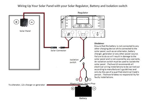 how to wire solar panels itechworld