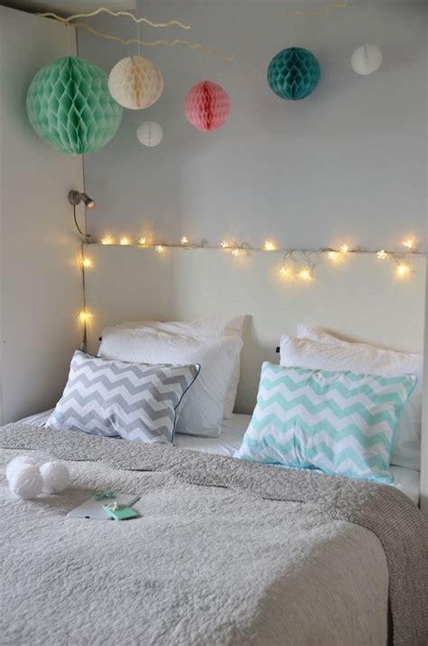 fabelaktig bedroom pompoms lightschain chevron