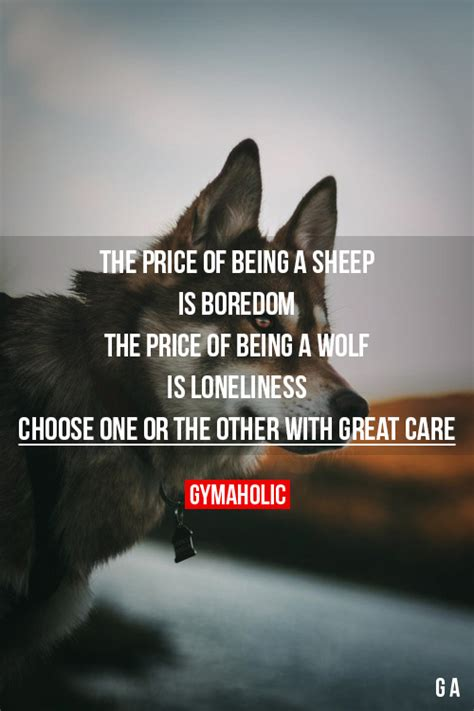 wolf quotes fitblr fitspo motivation inspiration