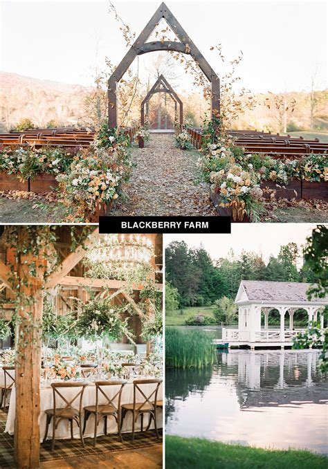 top  coolest wedding venues   united states
