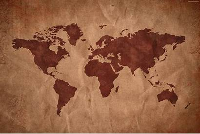 Map Asia Parchment Europe Maps Wallpapers North