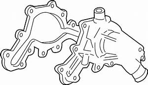 Ford Explorer Sport Trac Engine Water Pump Gasket