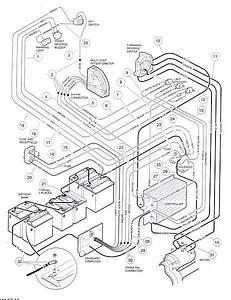 Looking For A Club Car  Golf Cart  48 Volt Wiring Diagram