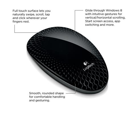 logitech wireless t620 touch mouse logitech touch mouse t620 with touch
