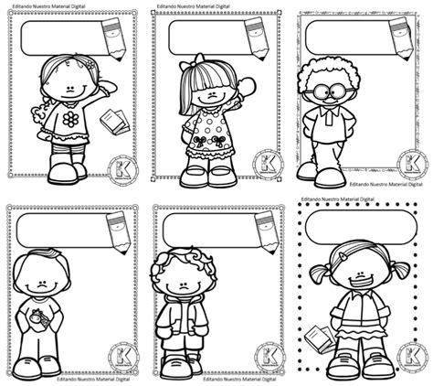 portadas para primer grado maravillosas portadas en blanco y negro para colorear y