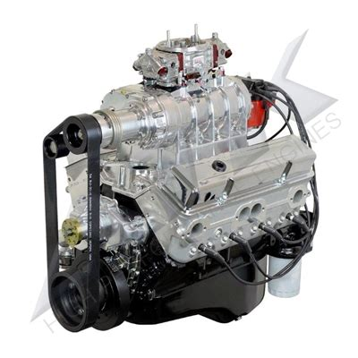 chevy  blower complete engine hp