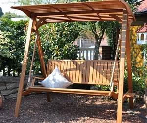 Balancelle De Jardin En Bois : balancelle de jardin en bois pas cher ~ Teatrodelosmanantiales.com Idées de Décoration