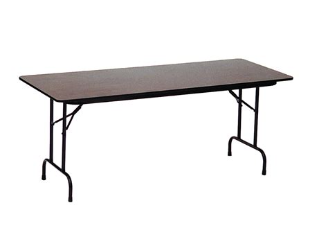 high top folding table high pressure laminate top folding table 24 quot x 48 quot 3 4