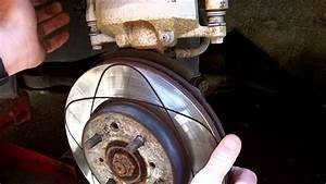 How To Change Front Brake Rotors 2001