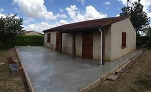 pose dalles paves betons exterieurs aussonne 31 With dalle beton interieur maison