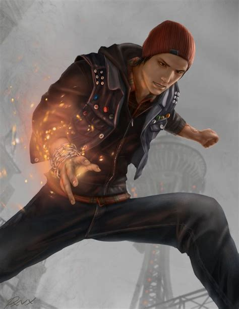 122 Best Images About Delsin Rowe On Pinterest Neon
