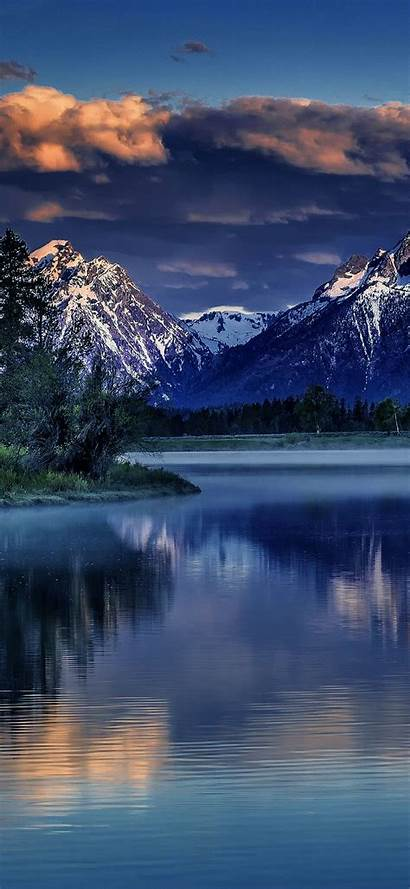 Mountain Lake Nature Wallpapers 2340 1080 A60
