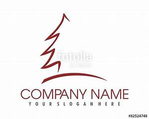 """pine tree logo image vector"" Stock image and royalty-free ..."