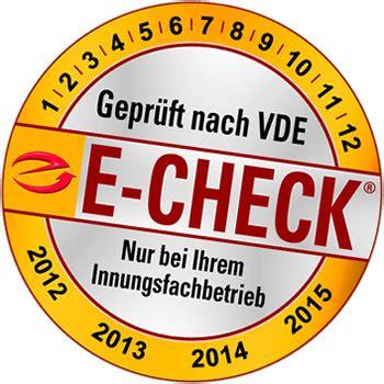 E Check Stromnetz Auf Schaeden Pruefen Lassen by Benzsolar De Aus Hennef Ihr Partner F 252 R Elektrotechnik