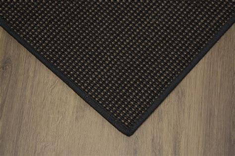 sisal tappeti sisal tappeto decorata ebano 400x500cm 100 agave nero
