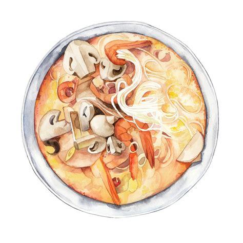 illustration cuisine watercolour illustration freelance illustrator artist uk anastasiya levashova
