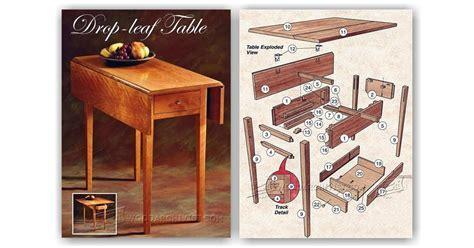 Drop Leaf Table Plans ? WoodArchivist