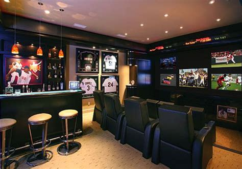 sports bar garage cc sabathias home bar amazing home