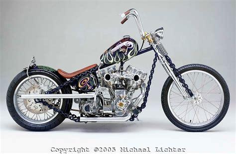 'chain Of Mystery' Harley Davidson Shovelhead / Panhead