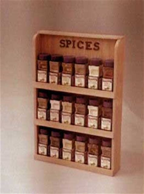 Spice Rack Woodworking Plans by Spice Rack Plans