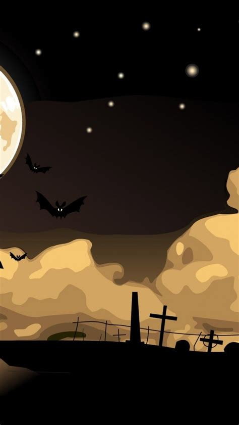 Iphone Wallpaper Bats by Cemetery Bats Iphone 5 Wallpaper Hd Free