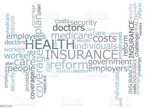 Find & download free graphic resources for healthcare. Health Insurance Word Cloud Stock Photo - Download Image Now - iStock