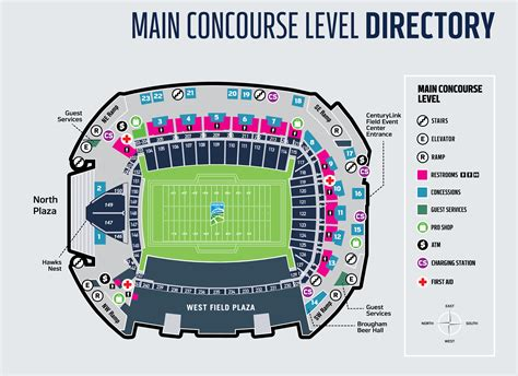 centurylink field seating map brokeasshomecom
