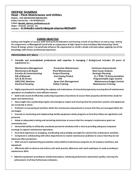 Deepak- Resume