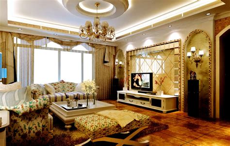 Most Beautiful Interior Design Living Room At Modern Home