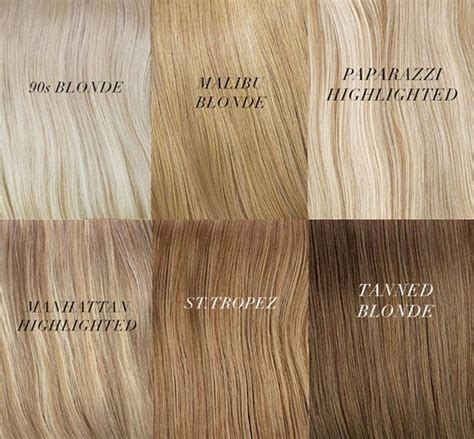 Different Shades by Different Shades Of Hair Chart Hair Colors