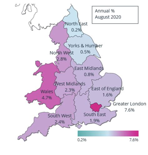 Heat Mapped: London & national house price growth • PrimeResi