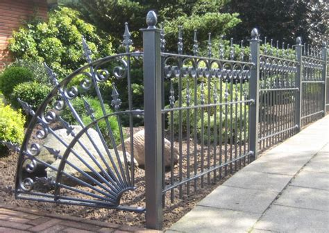 wrought iron fence amoy ironart fence wrought iron