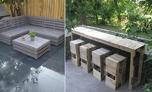 Möbel Für Die Terrasse : upcycling gartenm bel aus europaletten ~ Michelbontemps.com Haus und Dekorationen