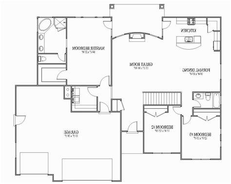open floor plan blueprints open floor plan house plans