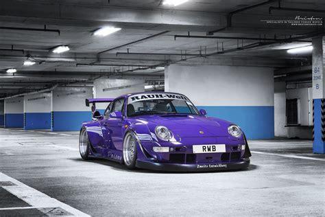 porsche rwb purple ultraviolet quot poison quot rauh welt begriff hk x brixton