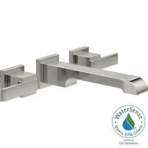 delta ara 8 in widespread 2 handle bathroom faucet trim