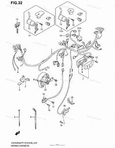 Suzuki Motorcycle 1998 Oem Parts Diagram For Wiring